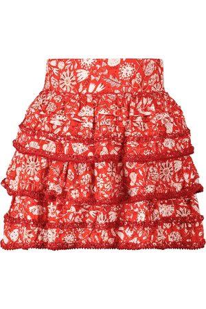 POUPETTE ST BARTH Exclusive to Mytheresa – Bibi floral miniskirt