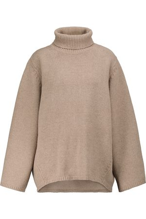 Totême Wool and cashmere turtleneck sweater