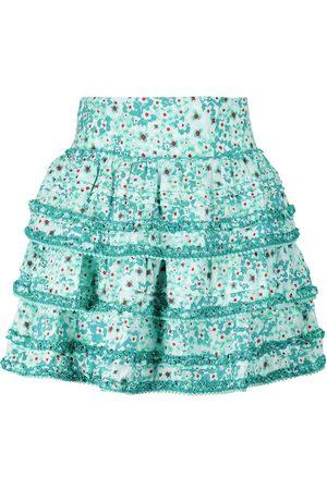 POUPETTE ST BARTH Exclusive to Mytheresa – Bibi floral high-rise miniskirt