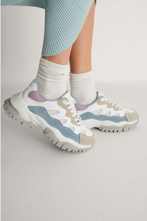 NA-KD Naiset Tennarit - Chunky Color Pop Trekking Sneakers - Multicolor
