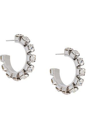 AREA Naiset Korvarenkaat - Crystal-embellished hoops