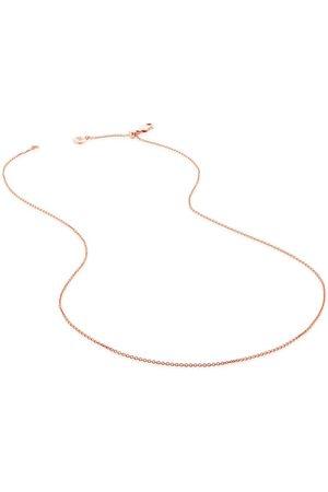 """Monica Vinader 17""""/43cm adjuster fine chain"""