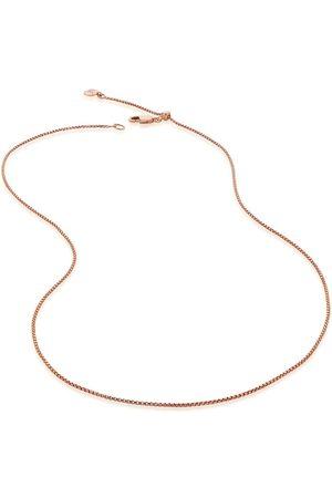 "Monica Vinader 18""/46cm fine oval box chain"