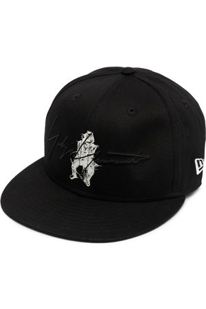 YOHJI YAMAMOTO Signature logo-print baseball cap