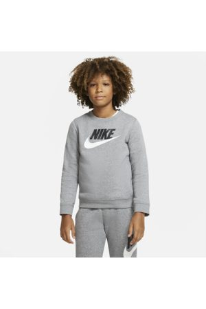 Nike Sportswear Club Fleece Older Kids' (Boys') Crew - Grey