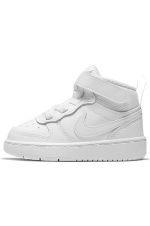 Nike Tennarit - Court Borough Mid 2 Baby and Toddler Shoe - White
