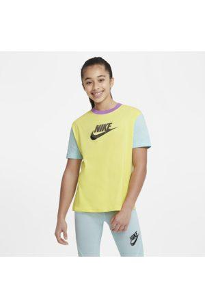 Nike Sportswear Older Kids' (Girls') T-Shirt - Yellow