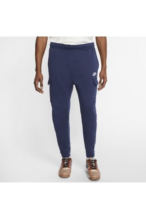 Nike Sportswear Club Fleece Men's Cargo Trousers - Blue
