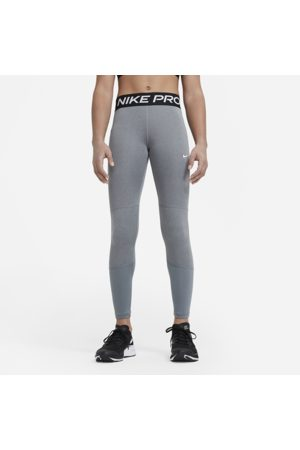Nike Pro Older Kids' (Girls') Leggings - Grey