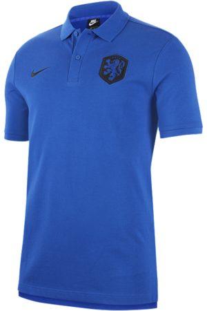 Nike Netherlands Men's Polo - Blue