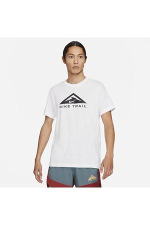 Nike Dri-FIT Short-Sleeve Trail Running T-Shirt - White
