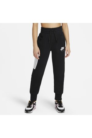 Nike Air Older Kids' (Girls') French Terry Trousers - Black