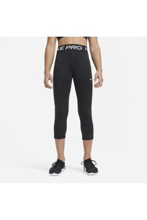 Nike Pro Older Kids' (Girls') Capri Leggings - Black