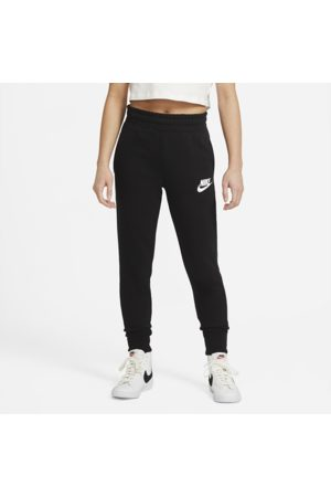 Nike Sportswear Club Older Kids' (Girls') French Terry Trousers - Black