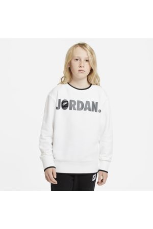 Nike Jordan Older Kids' (Boys') Crew - White