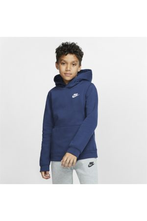 Nike Sportswear Club Older Kids' Pullover Hoodie - Blue