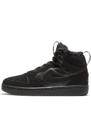 Nike Court Borough Mid 2 Younger Kids' Boot - Black