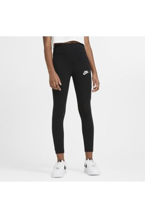 Nike Sportswear Favourites Older Kids' (Girls') High-Waisted Leggings - Black