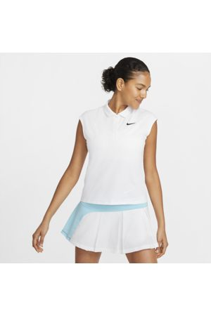 Nike Court Victory Women's Tennis Polo - White