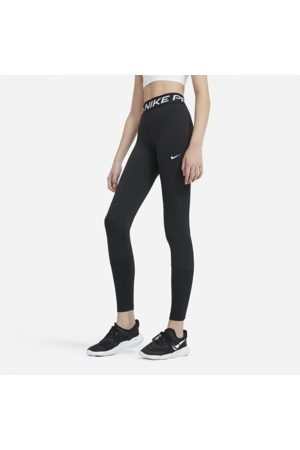 Nike Pro Older Kids' (Girls') Leggings - Black