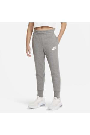Nike Sportswear Club Older Kids' (Girls') French Terry Trousers - Grey