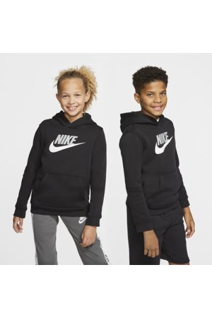 Nike Sportswear Club Fleece Older Kids' Pullover Hoodie - Black