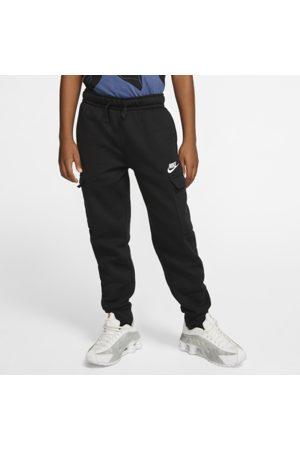 Nike Sportswear Club Older Kids' (Boys') Cargo Trousers - Black