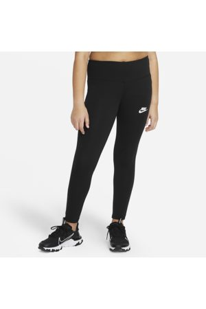 Nike Sportswear Favourites Older Kids' (Girls') High-Waisted Leggings (Extended Size) - Black