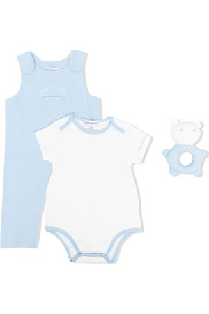 Emporio Armani Three-piece babygrow set