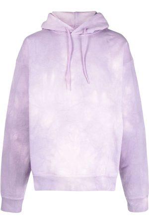 MARTINE ROSE Miehet Collegepaidat - Tie dye-print cotton hoodie