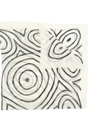 10 CORSO COMO Abstract-print scarf