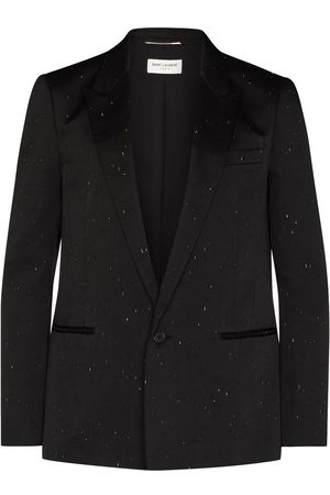 Saint Laurent Scratch-detail blazer