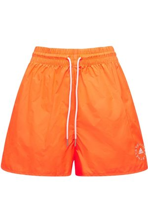 Stella McCartney Cotton & Tech Mini Shorts