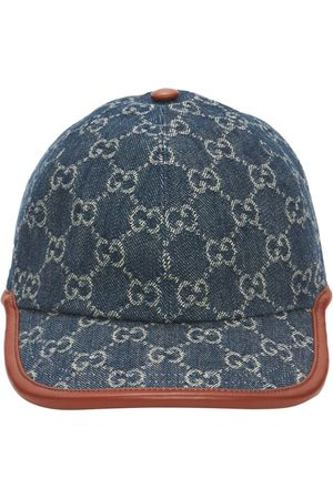 Gucci Naiset Hatut - Gg Vintage Effect Baseball Cap