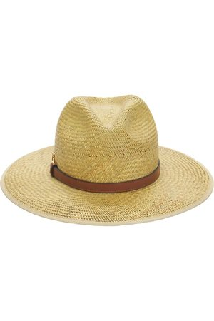 Gucci Straw Brimmed Hat W/horsebit