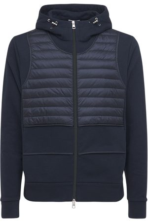 Moncler Genius Miehet Untuvatakit - Craig Green Zip-up Cotton & Down Jacket