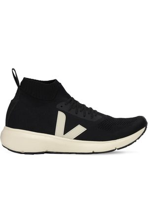 Rick Owens Veja Sock Runner Mid-top Sneakers