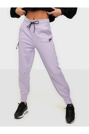 Nike W Nsw Tch Flc Pant Lilac