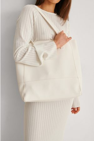 NA-KD Soft Basic Tote - White