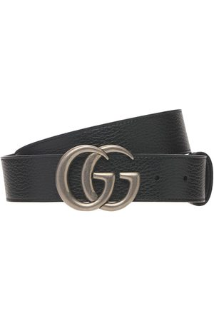 Gucci 4cm Gg Marmont Reversible Wide Belt