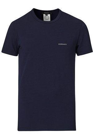 VERSACE Miehet T-paidat - Logo Tee Navy