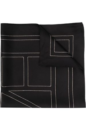 Totême Naiset Huivit - Logo-print scarf
