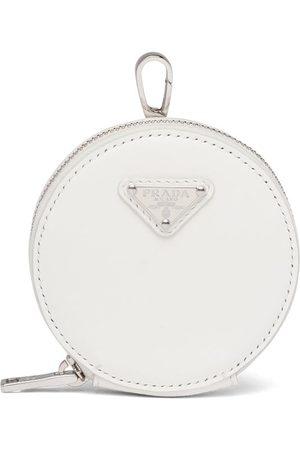 Prada Naiset Lompakot - Logo-plaque round pouch