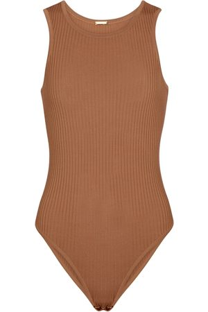 DODO BAR OR Ribbed-knit bodysuit