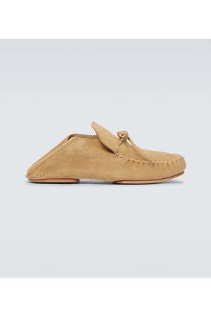 Loewe Paula's Ibiza suede loafers