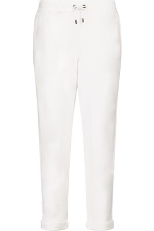 Brunello Cucinelli Cotton jersey sweatpants