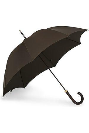 Fox Umbrellas Polished Hardwood Umbrella Brown