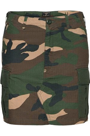 Superdry Naiset Minihameet - Straight Cargo Skirt Lyhyt Hame Vihreä