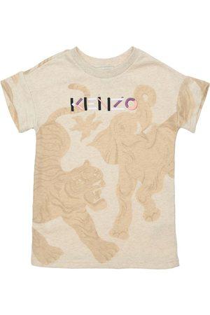 Kenzo Tytöt Printtimekot - All Over Print Cotton Dress