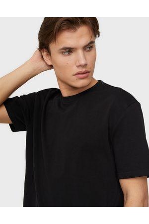 Only & Sons Miehet T-paidat - Onsanel Life Reg Ss Tee T-paidat ja topit Black